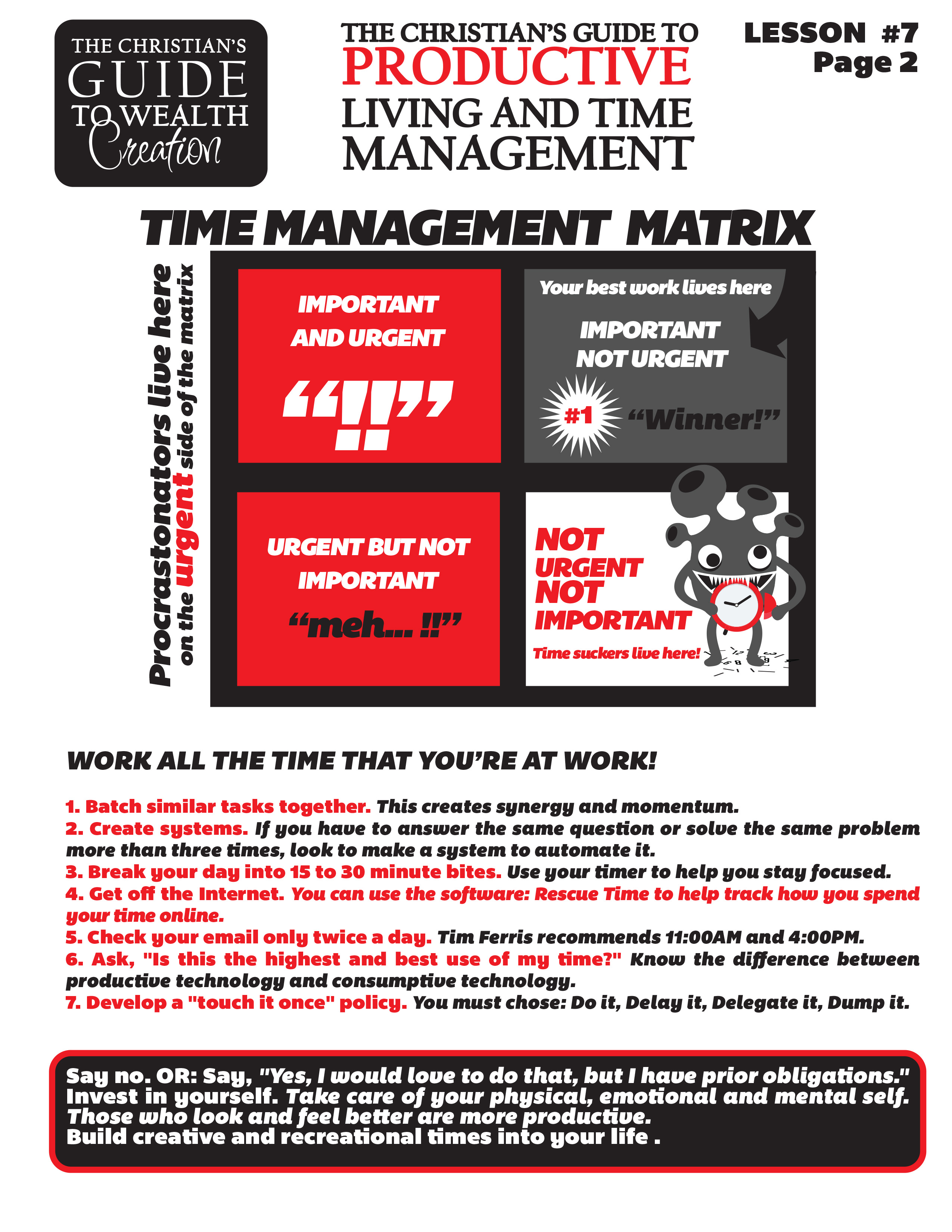 Lesson 7 The Christian's Guide to Productive Living and Time Management Page 2.jpg