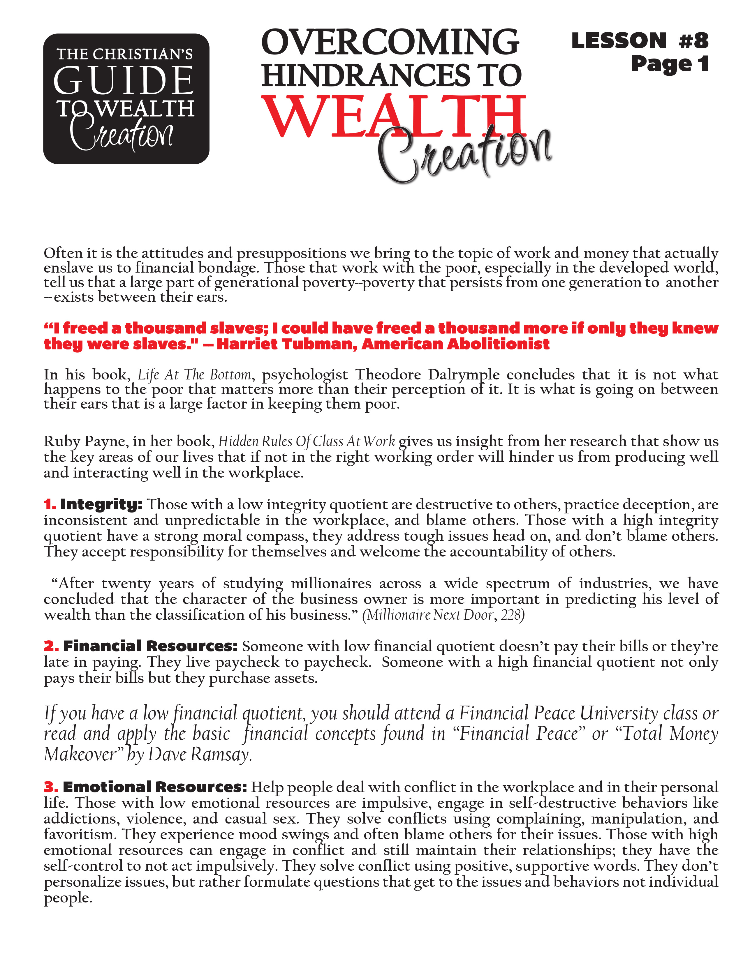 Lesson 8 Overcoming Hindrances to Wealth Creation - page 1.jpg